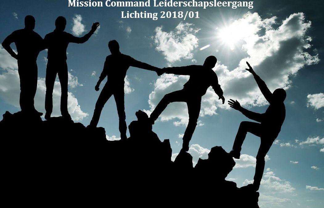 Deelnemers over de Mission Command Leiderschapsleergang: Investeren in jezelf en leren van elkaar
